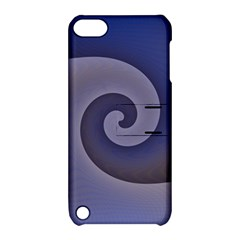 Logo Wave Design Abstract Apple iPod Touch 5 Hardshell Case with Stand