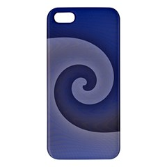 Logo Wave Design Abstract Apple iPhone 5 Premium Hardshell Case