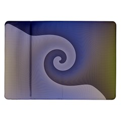 Logo Wave Design Abstract Samsung Galaxy Tab 10.1  P7500 Flip Case