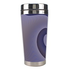 Logo Wave Design Abstract Stainless Steel Travel Tumblers