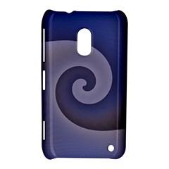 Logo Wave Design Abstract Nokia Lumia 620