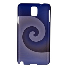 Logo Wave Design Abstract Samsung Galaxy Note 3 N9005 Hardshell Case