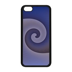 Logo Wave Design Abstract Apple iPhone 5C Seamless Case (Black)