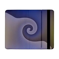 Logo Wave Design Abstract Samsung Galaxy Tab Pro 8 4  Flip Case