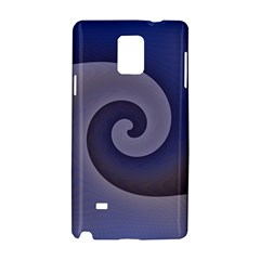 Logo Wave Design Abstract Samsung Galaxy Note 4 Hardshell Case