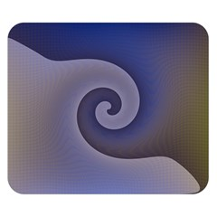 Logo Wave Design Abstract Double Sided Flano Blanket (Small)