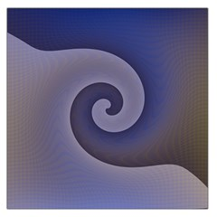 Logo Wave Design Abstract Large Satin Scarf (Square)