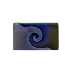 Logo Wave Design Abstract Cosmetic Bag (xs)