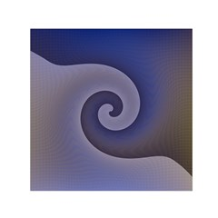 Logo Wave Design Abstract Small Satin Scarf (Square)