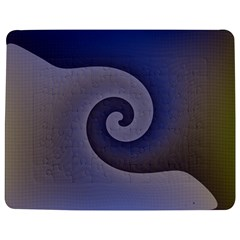 Logo Wave Design Abstract Jigsaw Puzzle Photo Stand (Rectangular)