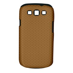 Pattern Honeycomb Pattern Brown Samsung Galaxy S III Classic Hardshell Case (PC+Silicone)