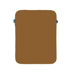 Pattern Honeycomb Pattern Brown Apple iPad 2/3/4 Protective Soft Cases