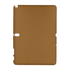 Pattern Honeycomb Pattern Brown Galaxy Note 1