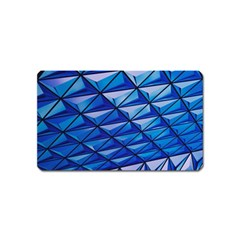 Lines Geometry Architecture Texture Magnet (name Card)