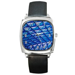 Lines Geometry Architecture Texture Square Metal Watch