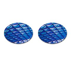 Lines Geometry Architecture Texture Cufflinks (Oval)