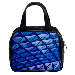 Lines Geometry Architecture Texture Classic Handbags (2 Sides)
