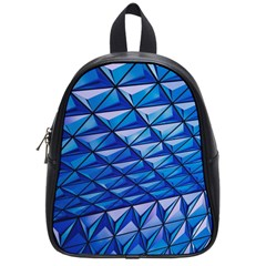 Lines Geometry Architecture Texture School Bags (small)