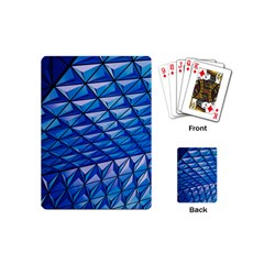 Lines Geometry Architecture Texture Playing Cards (Mini)