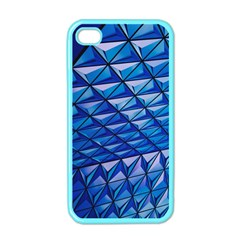 Lines Geometry Architecture Texture Apple iPhone 4 Case (Color)