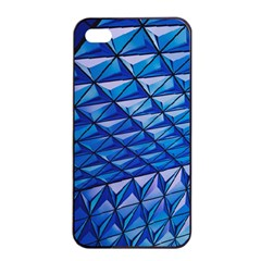 Lines Geometry Architecture Texture Apple Iphone 4/4s Seamless Case (black)