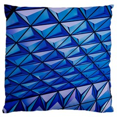 Lines Geometry Architecture Texture Large Cushion Case (Two Sides)