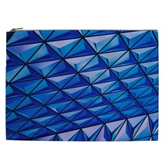 Lines Geometry Architecture Texture Cosmetic Bag (XXL)