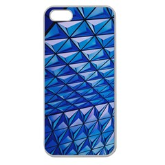 Lines Geometry Architecture Texture Apple Seamless iPhone 5 Case (Clear)
