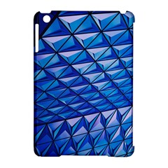 Lines Geometry Architecture Texture Apple iPad Mini Hardshell Case (Compatible with Smart Cover)