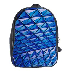 Lines Geometry Architecture Texture School Bags (XL)