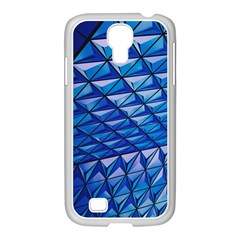 Lines Geometry Architecture Texture Samsung GALAXY S4 I9500/ I9505 Case (White)