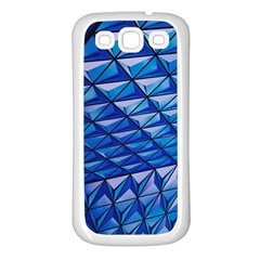 Lines Geometry Architecture Texture Samsung Galaxy S3 Back Case (White)