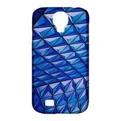 Lines Geometry Architecture Texture Samsung Galaxy S4 Classic Hardshell Case (PC+Silicone)
