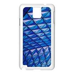 Lines Geometry Architecture Texture Samsung Galaxy Note 3 N9005 Case (White)