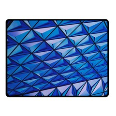 Lines Geometry Architecture Texture Double Sided Fleece Blanket (Small)