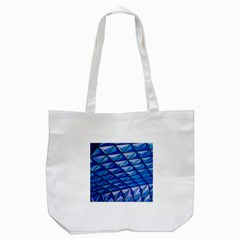 Lines Geometry Architecture Texture Tote Bag (White)