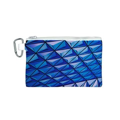 Lines Geometry Architecture Texture Canvas Cosmetic Bag (S)