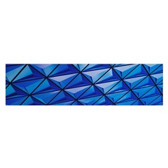 Lines Geometry Architecture Texture Satin Scarf (Oblong)