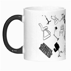 Furniture Black Decor Pattern Morph Mugs