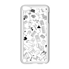 Furniture Black Decor Pattern Apple Ipod Touch 5 Case (white)