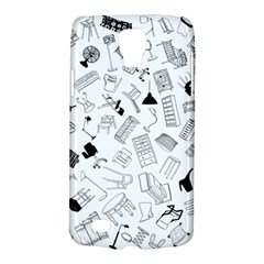 Furniture Black Decor Pattern Galaxy S4 Active
