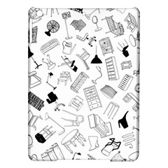 Furniture Black Decor Pattern iPad Air Hardshell Cases