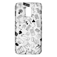 Furniture Black Decor Pattern Galaxy S5 Mini