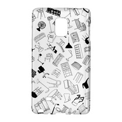 Furniture Black Decor Pattern Galaxy Note Edge