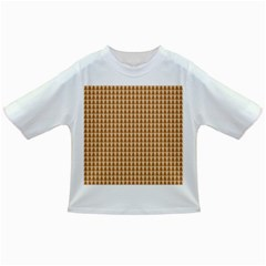 Pattern Gingerbread Brown Infant/toddler T Shirts