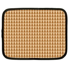 Pattern Gingerbread Brown Netbook Case (XXL)