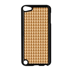 Pattern Gingerbread Brown Apple iPod Touch 5 Case (Black)