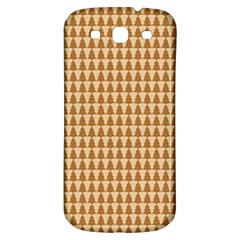 Pattern Gingerbread Brown Samsung Galaxy S3 S Iii Classic Hardshell Back Case