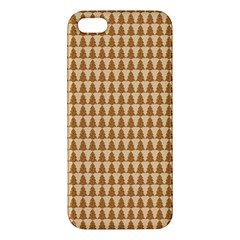 Pattern Gingerbread Brown Apple iPhone 5 Premium Hardshell Case