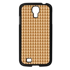 Pattern Gingerbread Brown Samsung Galaxy S4 I9500/ I9505 Case (Black)